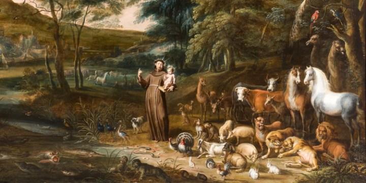 São Francisco de Assis e os animais