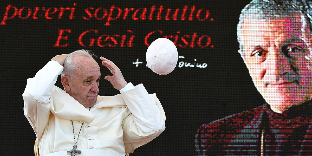 POPE FRANCIS - DON TONINO BELLO