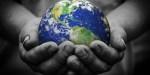 MAN HOLDING EARTH