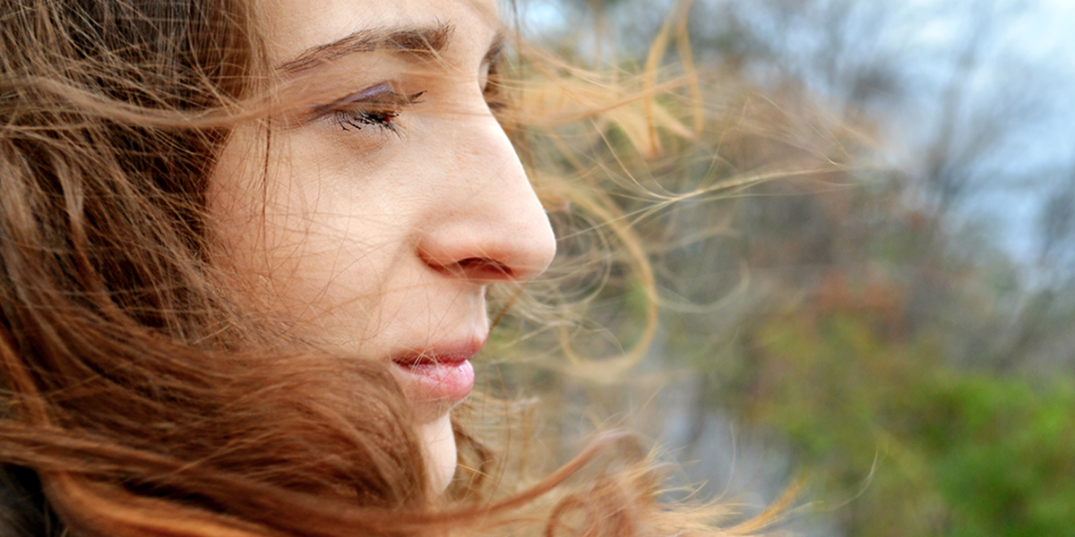WOMAN IN THOUGHT