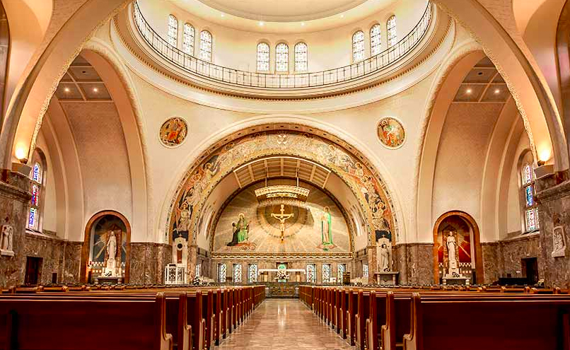 The National Shrine of St. Elizabeth Ann Seton