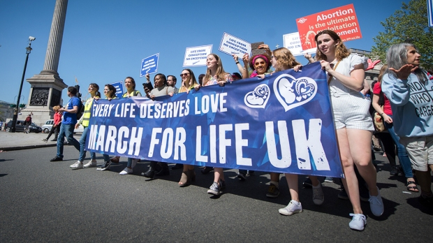 MARCH FOR LIFE,UK,ENGLAND