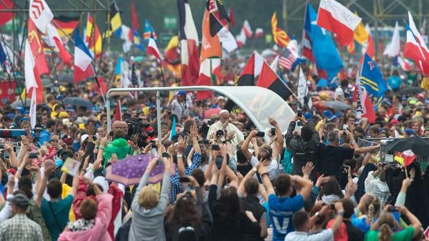 POPE FRANCIS POLAND WYD