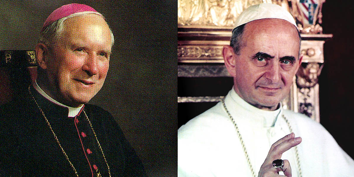 POPE PAUL VI, ARCHBISHOP LEFEBVRE