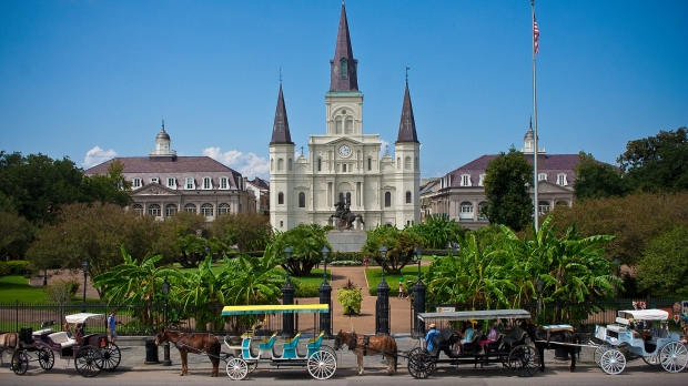 ST LOUIS CATHEDRAL;NEW ORLEANS