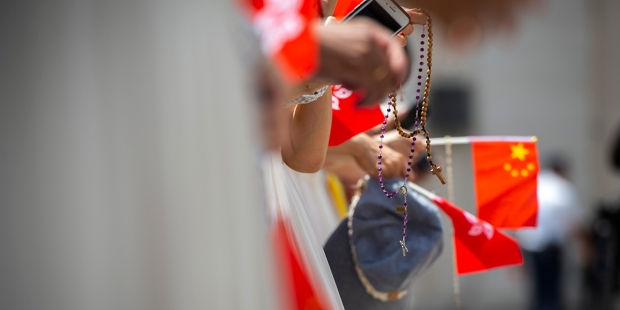 ROSARY,CHINA,POPE FRANCIS