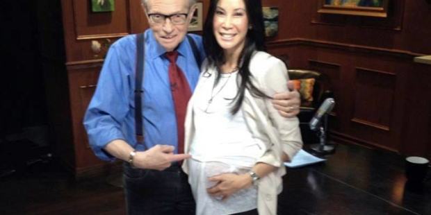 LISA LING AND LARRY KING