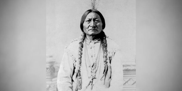 PORTRAIT OF INDIAN CHIEF SITTING BULL