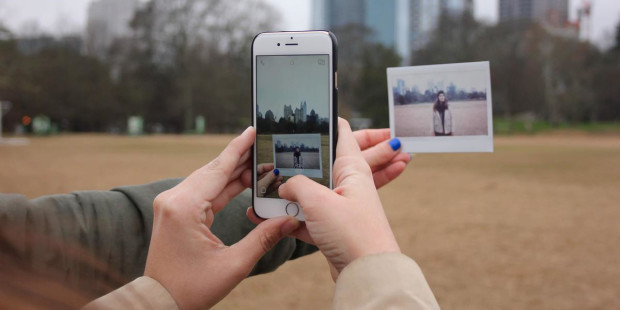 PHONE TAKING PHOTO