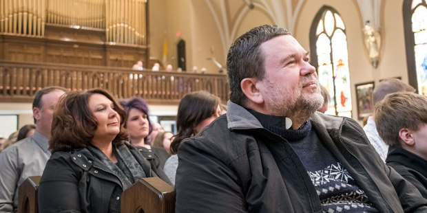 PEOPLE AT CHURCH