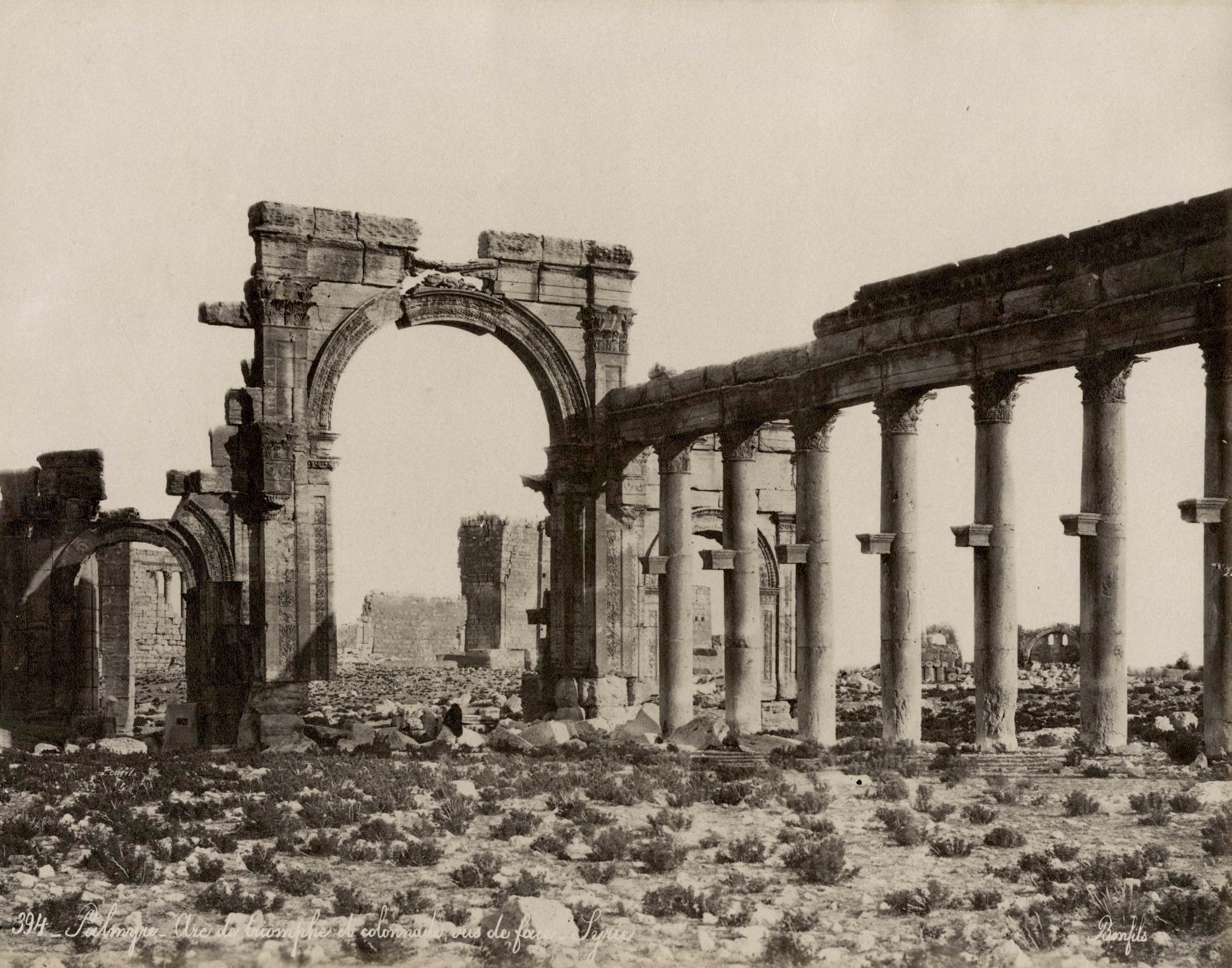 ANCIENT PALMYRA RUINS