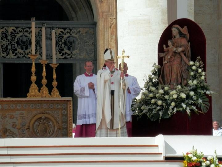 POPE FRANCIS INAUGURATION MASS