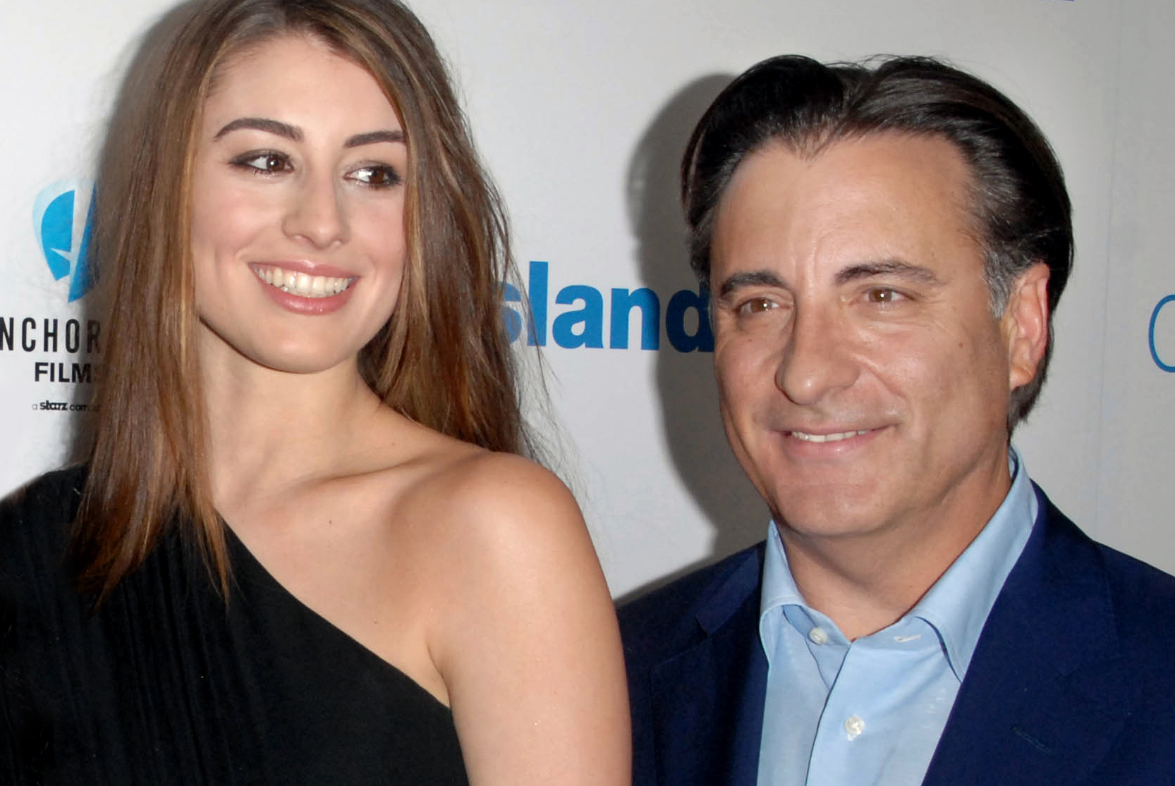 Andy Garcia with his daughter Dominik