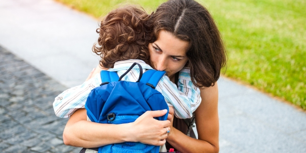 MOM,SON,SCHOOL