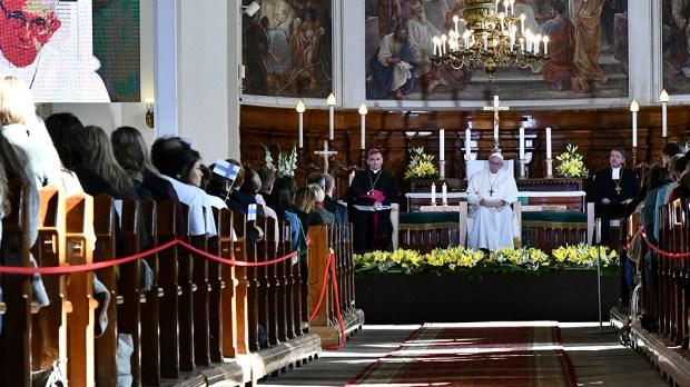 POPE FRANCIS ESTONIA
