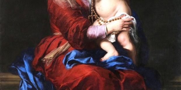 En imágenes: Los más bellos cuadros de la Virgen del Rosario
