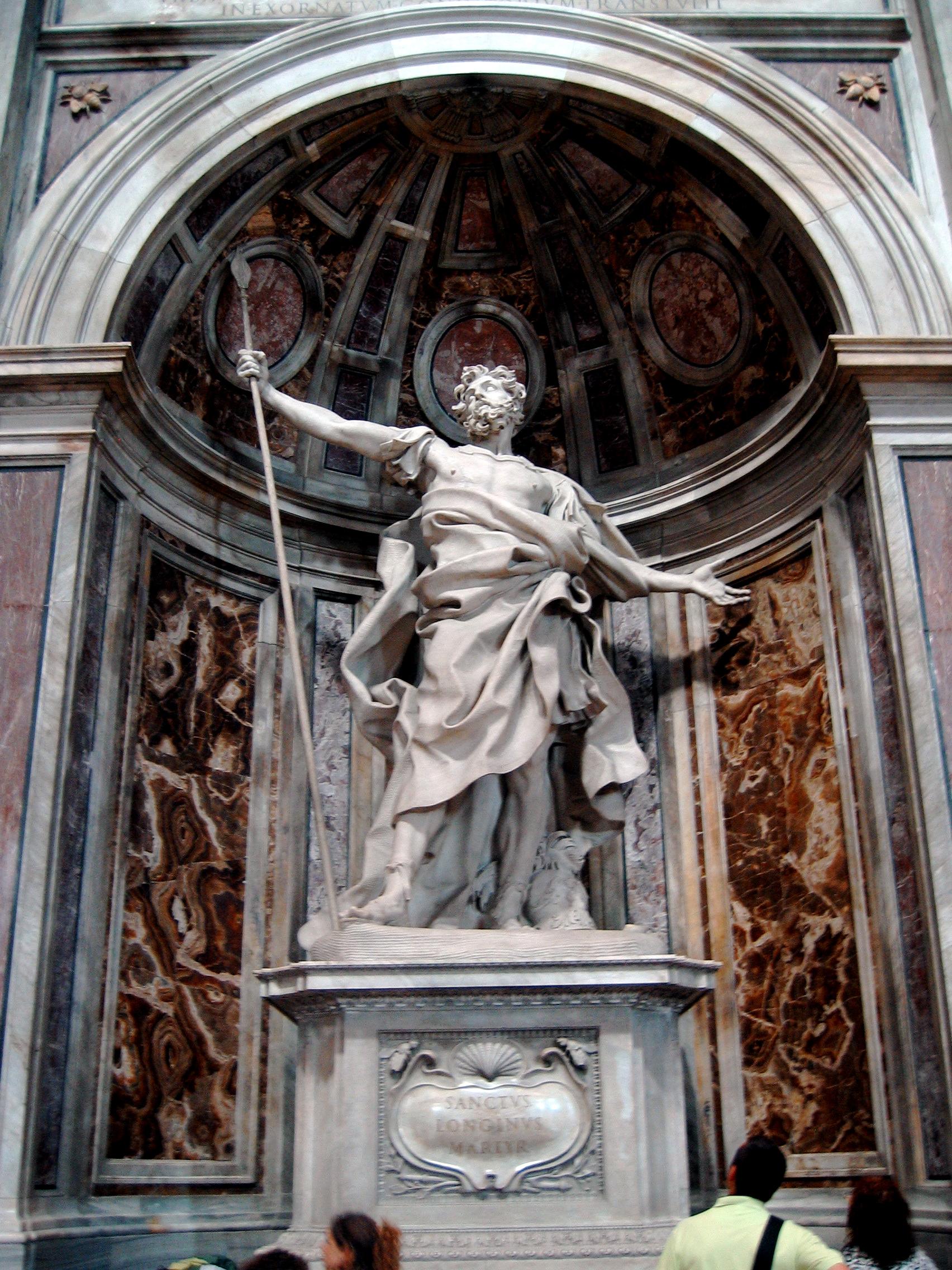 San Longino, Basílica de San Pedro, Vaticano