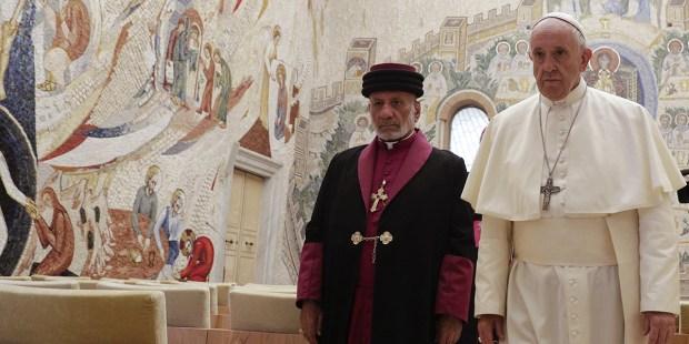 POPE FRANCIS MAR GEWARGIS III