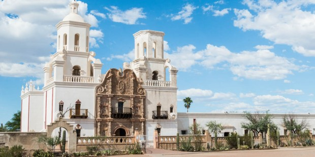 SAN XAVIER DEL BAC MISSION,TUSCAN,ARIZONA