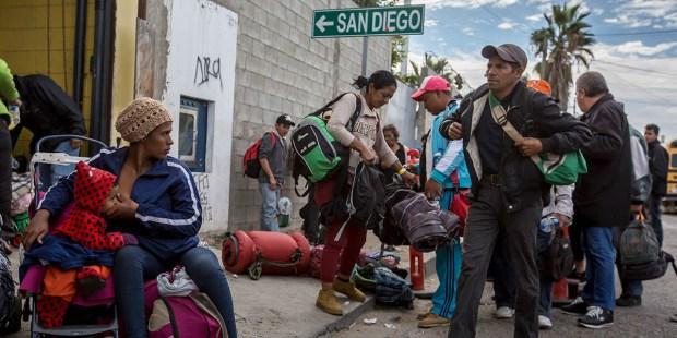 Migrantes en EEUU