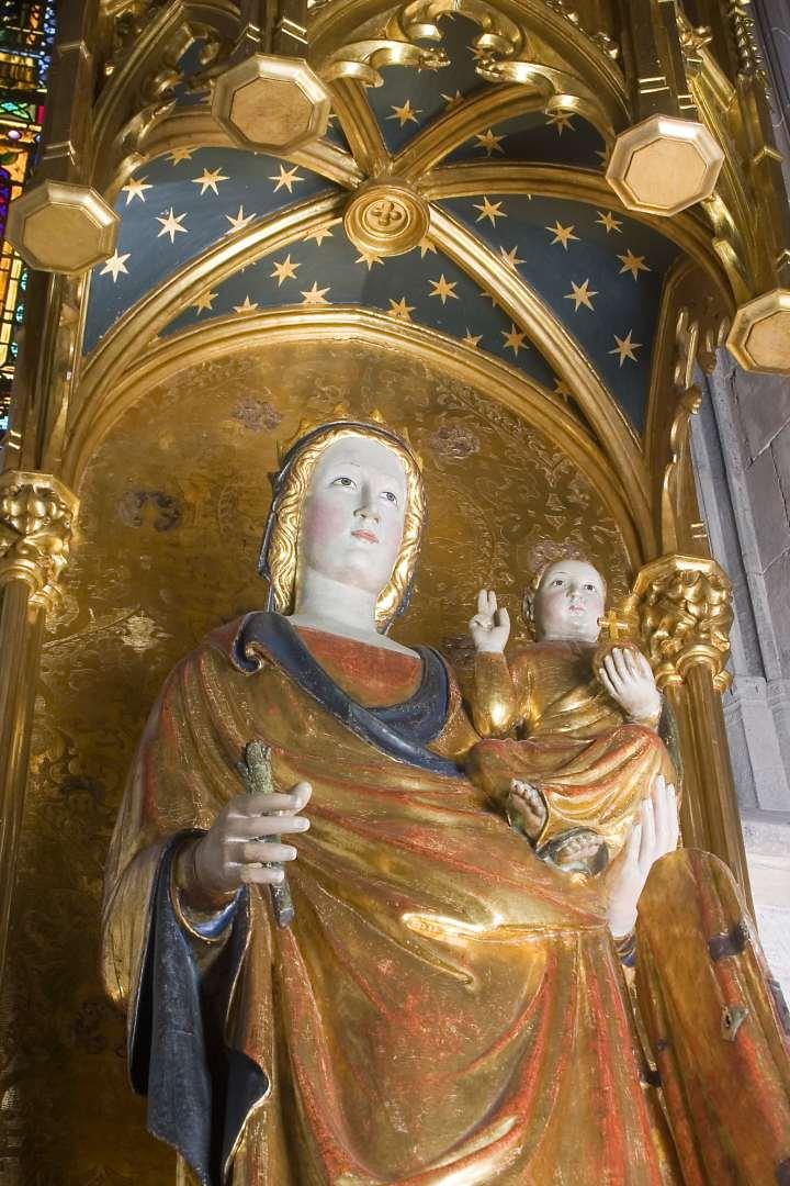 Virgen Sagrario de la Catedral de Mallorca
