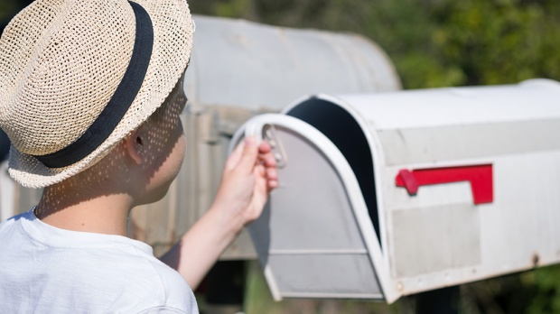 MAILING A LETTER