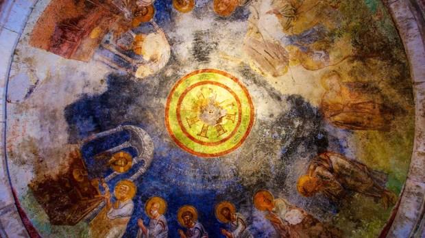 CEILING FRESCO, SAINT NICHOLAS CHURCH