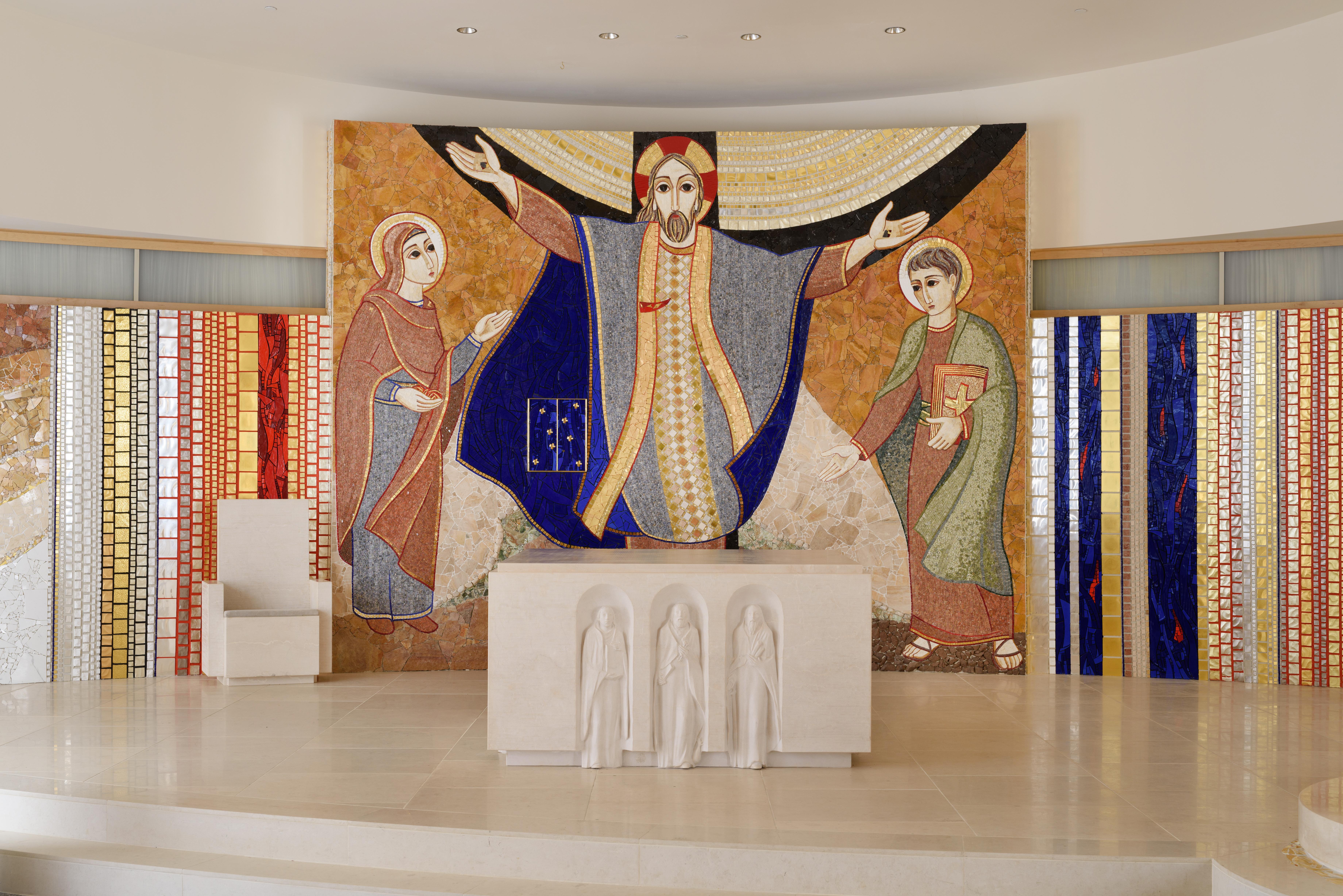 JPII shrine Big Chapel Altar