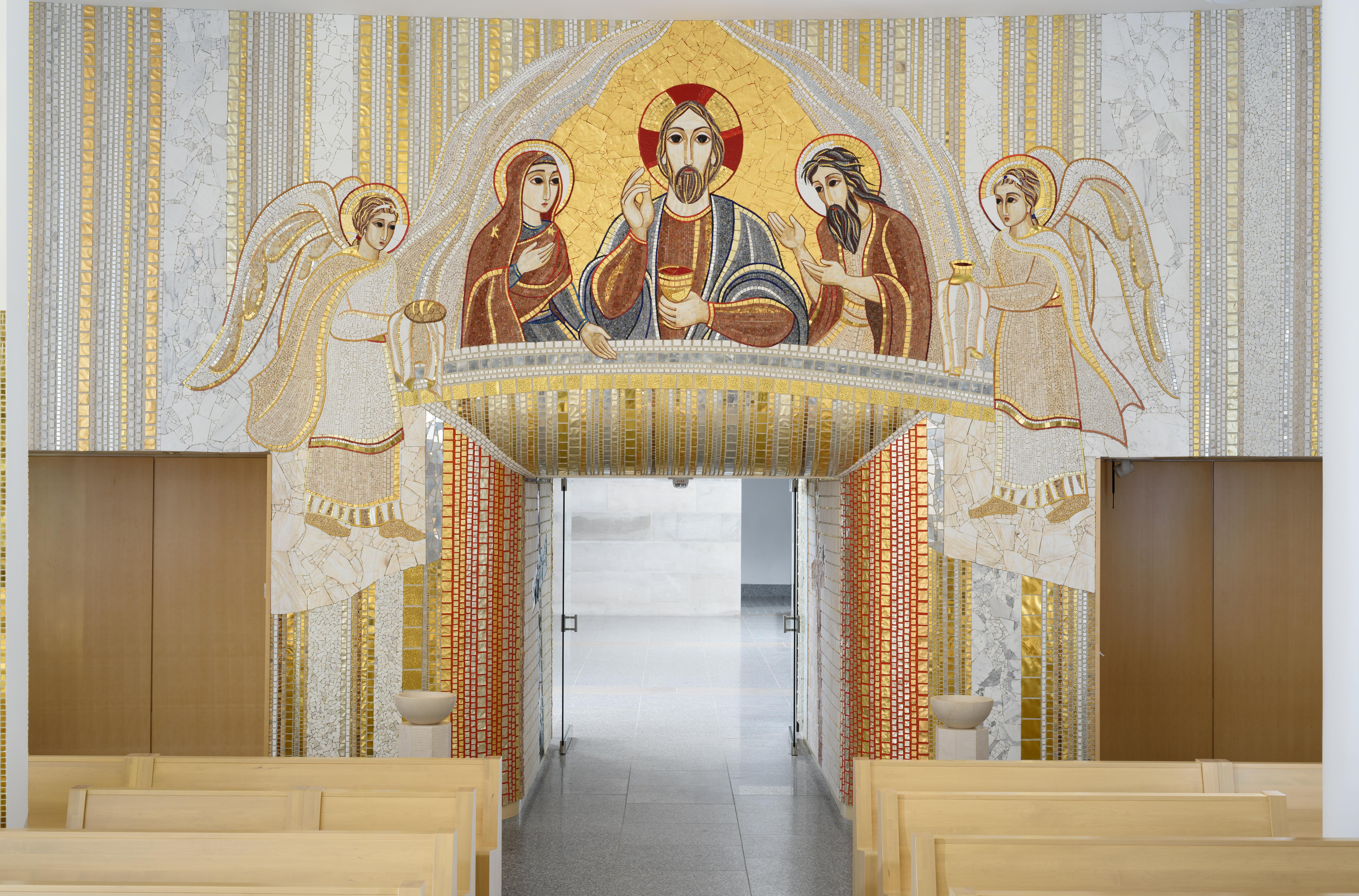 JPII shrine big chapel