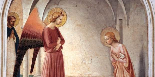 La Anunciación de María en el arte