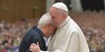POPE FRANCIS GREETS DON VINICIO ALBANESI