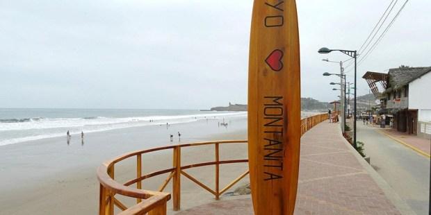 Te gusta el surf y las olas? En Montañita (Ecuador) hay un lugar para ti