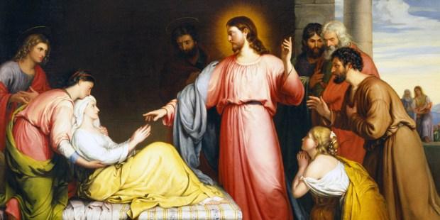 La curación de la suegra de Pedro