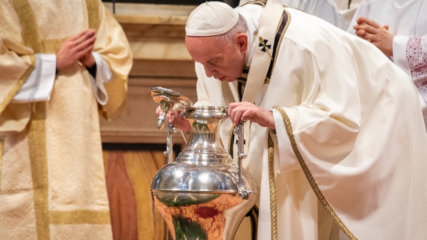 POPE FRANCIS CHRISM