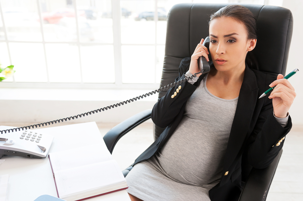 Pregnant office