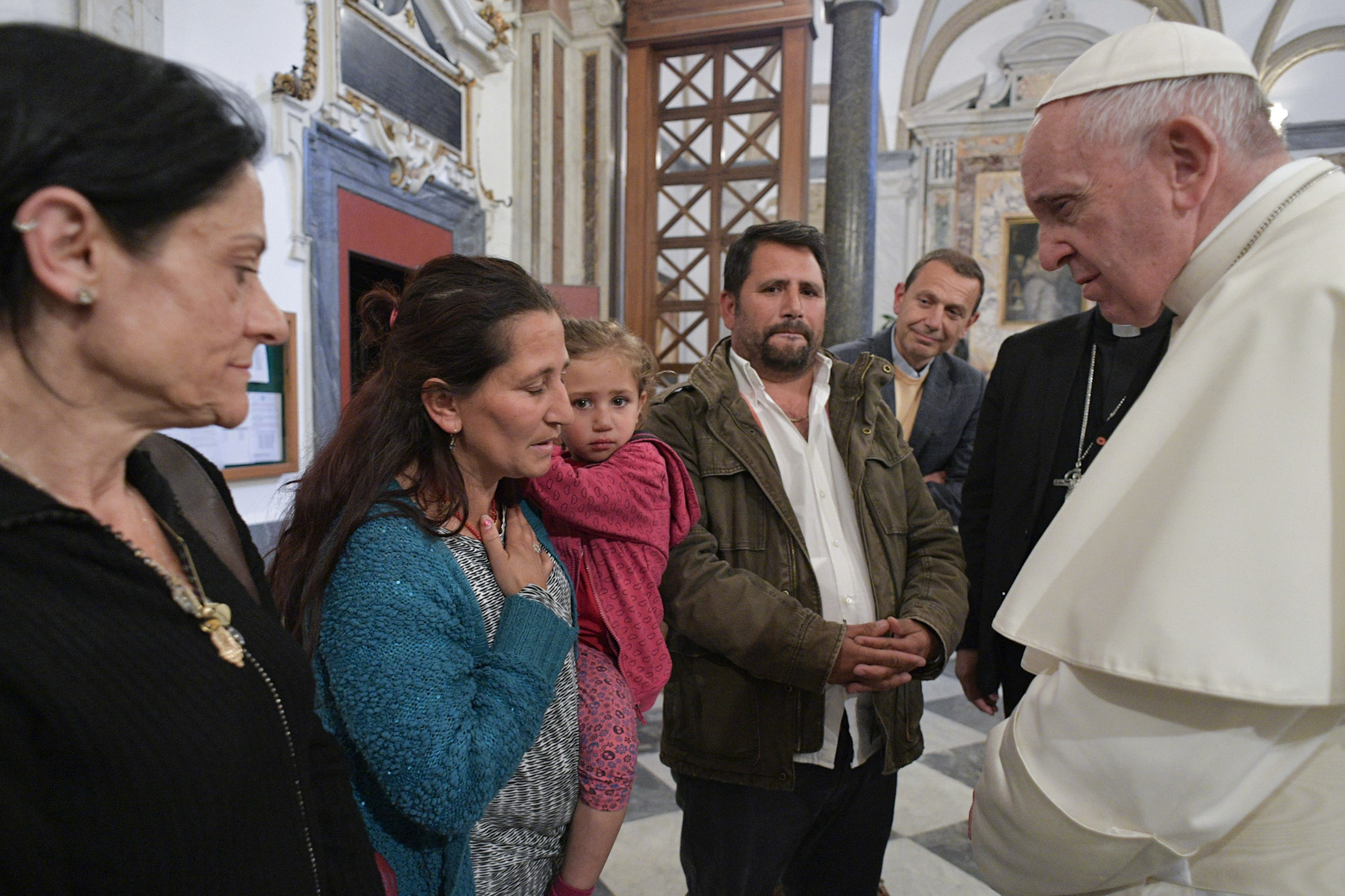 pope francis gipsy