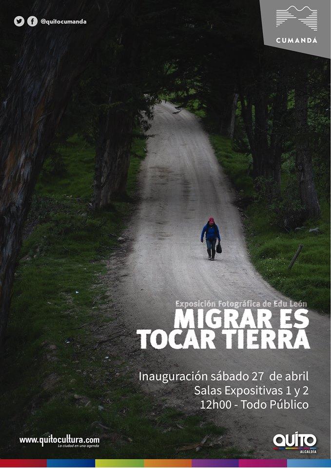 MIGRAR ES TOCAR TIERRA
