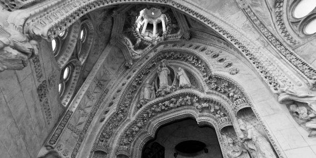 La buena muerte de Gaudí en la Sagrada Familia