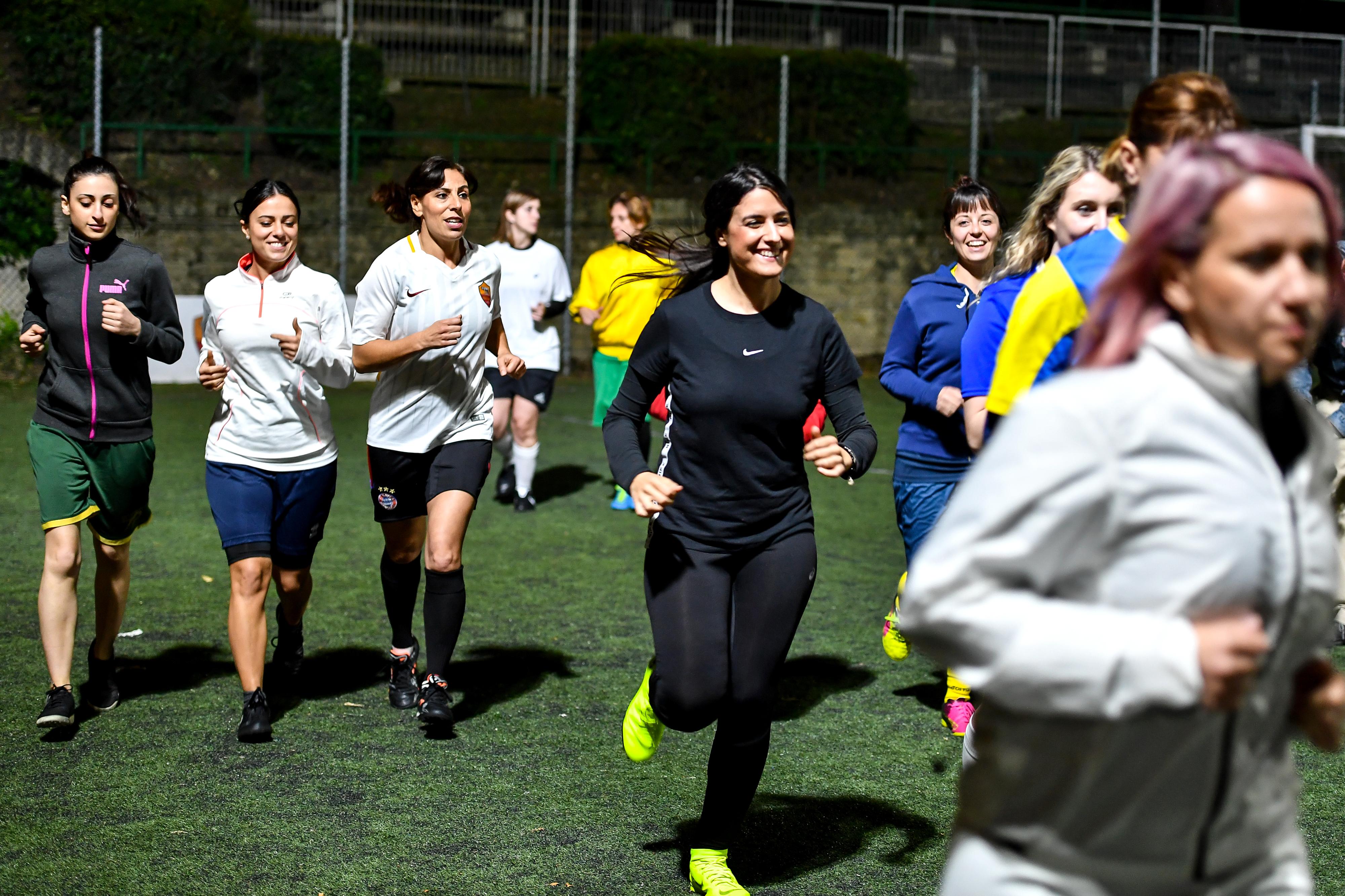 women soccer vatican
