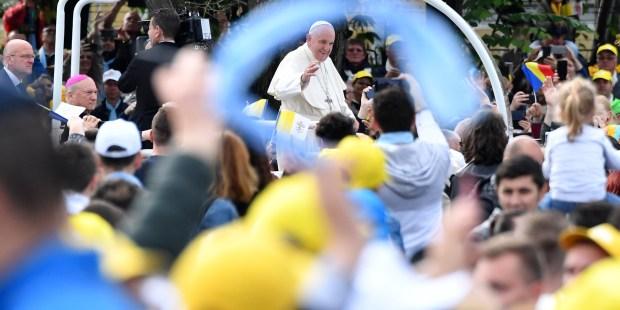 pope romania