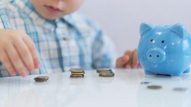 child money piggy bank