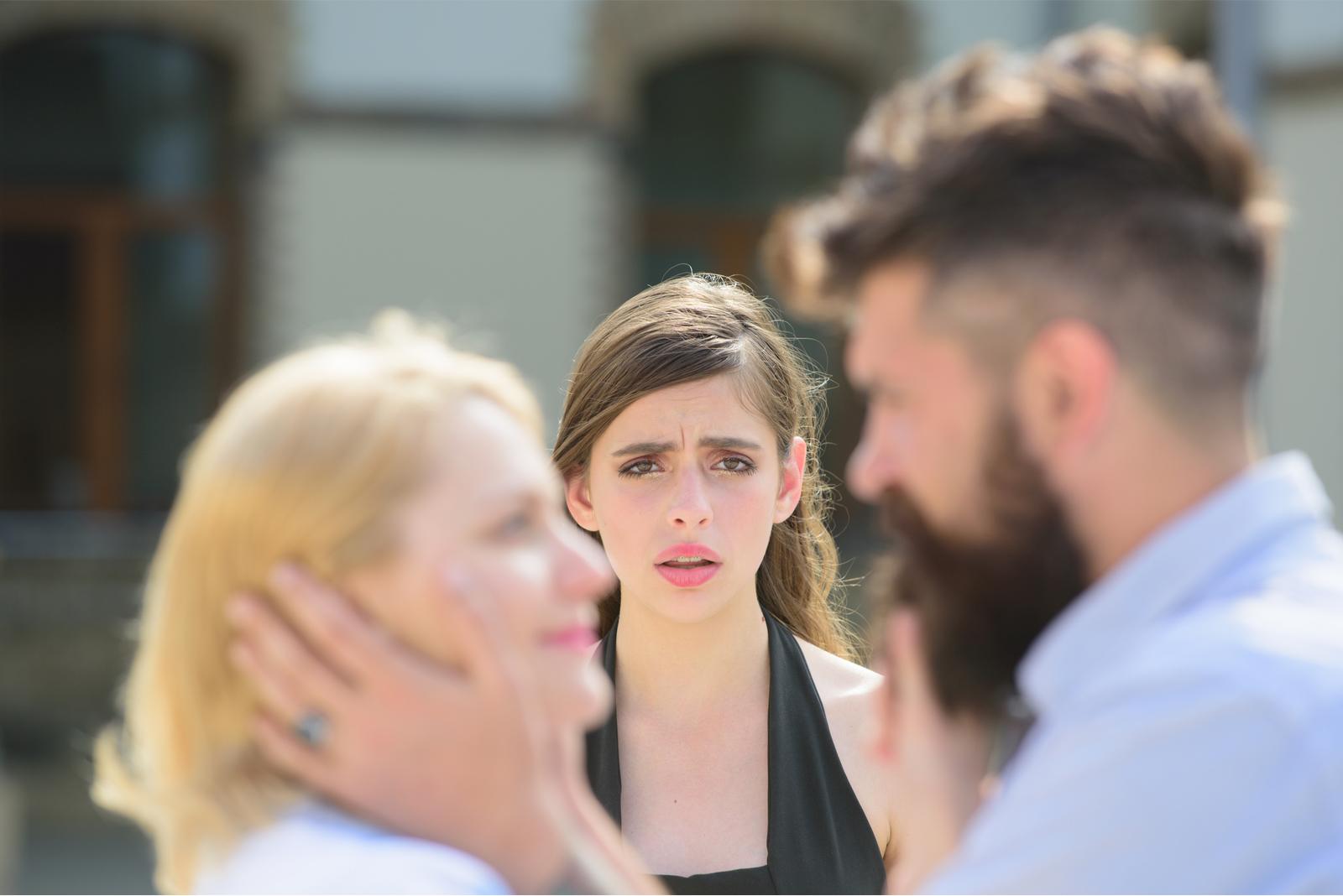 envy jealousy couple woman