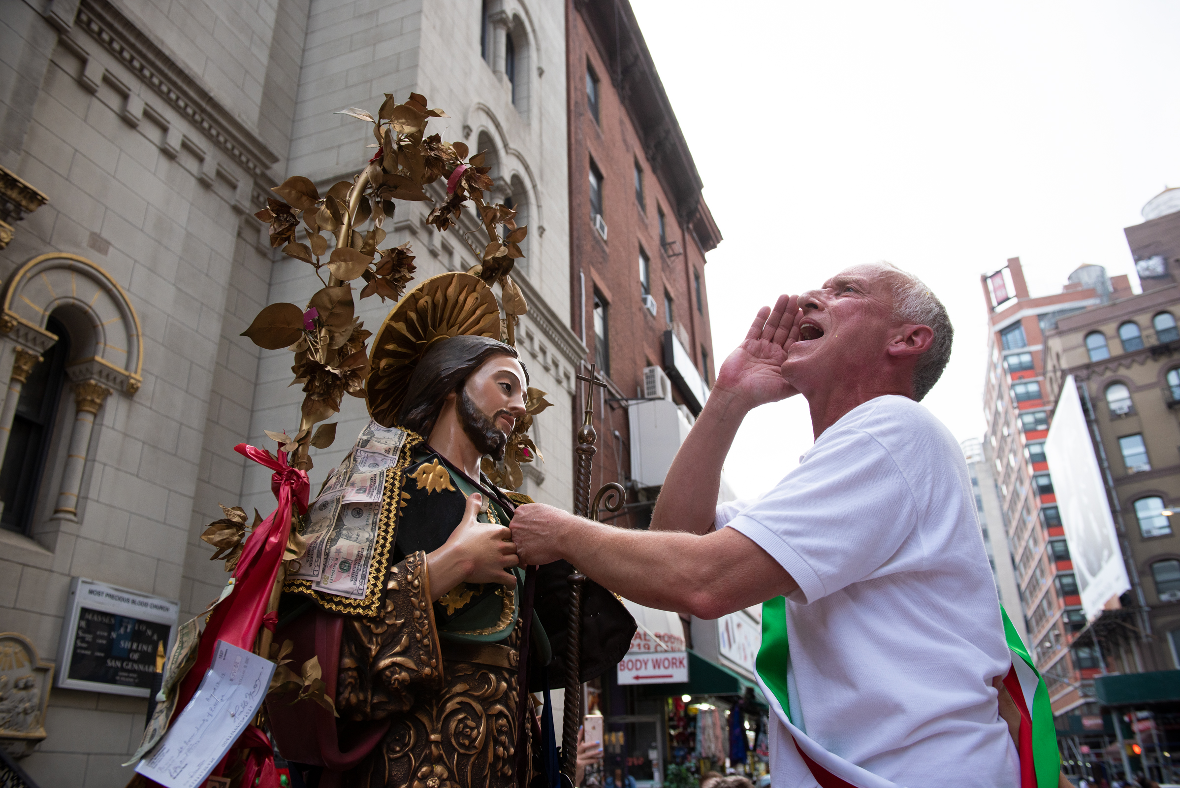 SAN ROCCO, LITTLE ITALY, NEW YORK