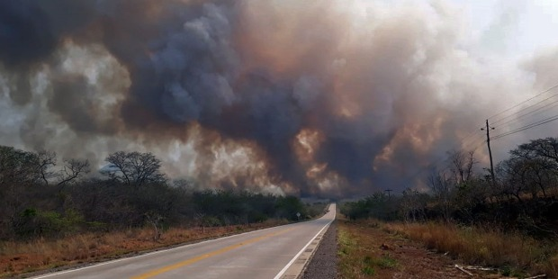 BOLIVIA FIRE