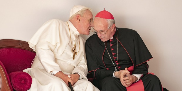 film two popes