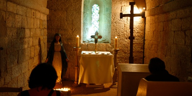 Exposition du Saint-Sacrement