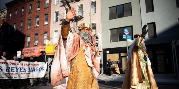THREE KINGS DAY,EPIPHANY,NEW YORK,BROOKLYN