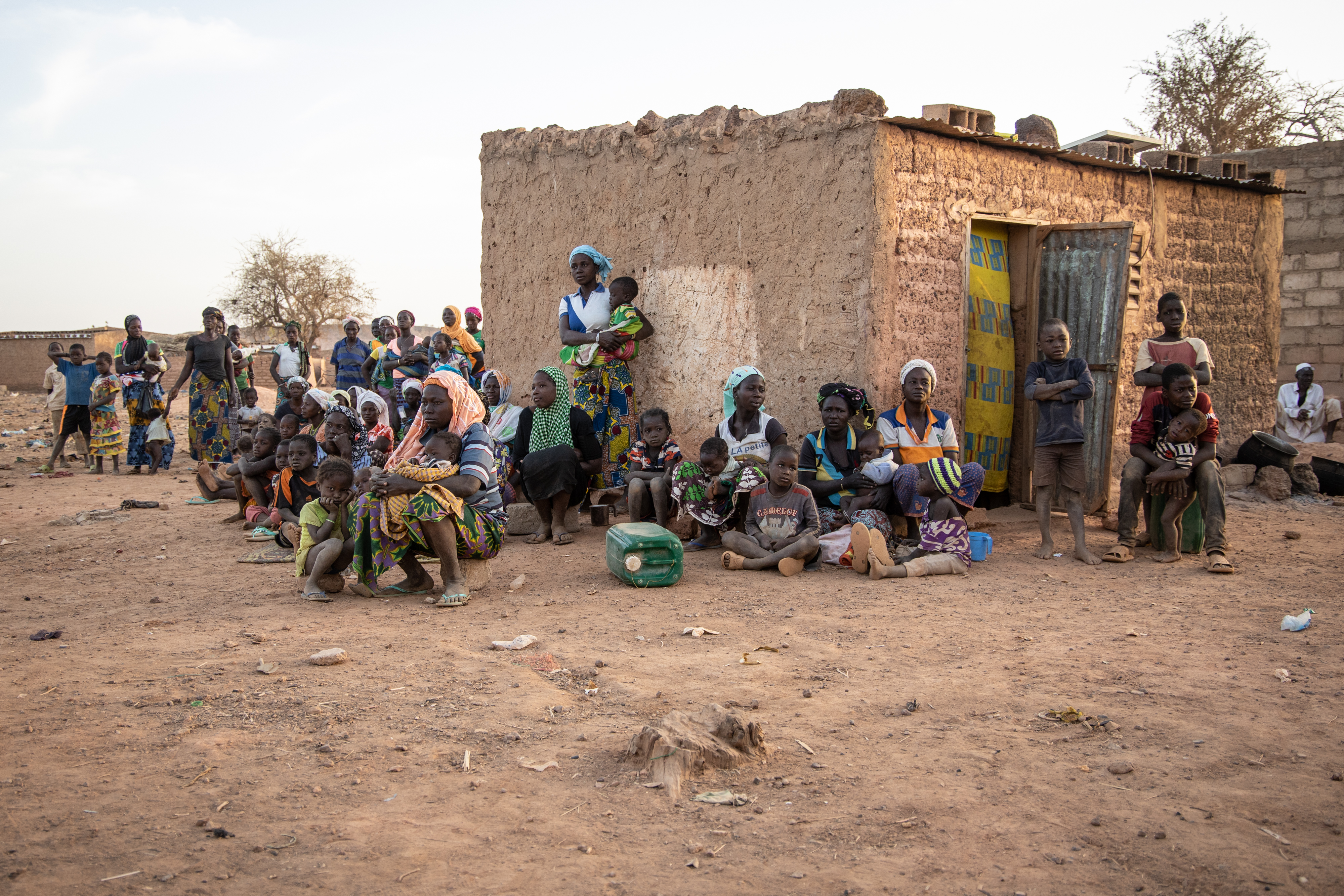 Burkina Faso Displaced