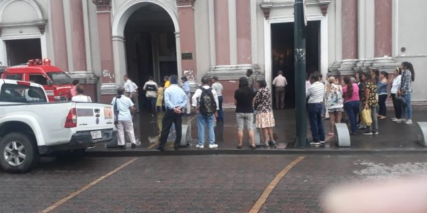 Iglesia inundada Ecuador