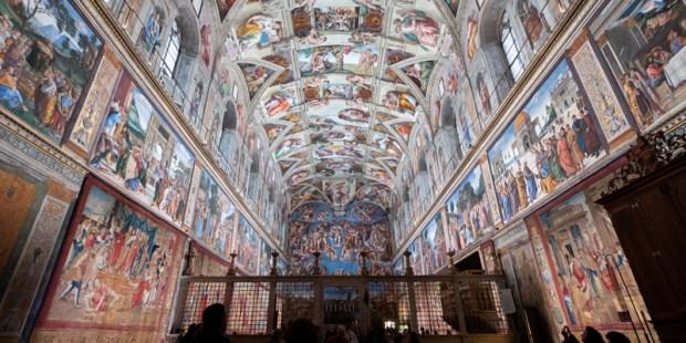 Los tapices de Rafael de nuevo en la Capilla Sixtina